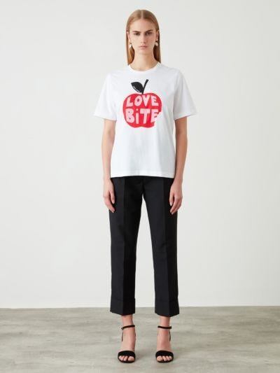 Flocked Love Bite Anna Tee