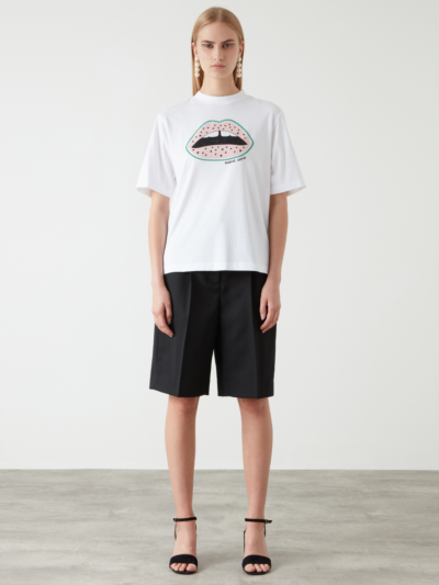 Water Melon Lip Nicola Tee