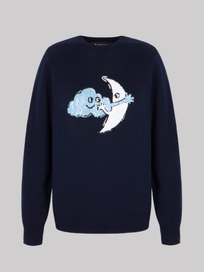 Sequin Cloud Moon Mia Jumper