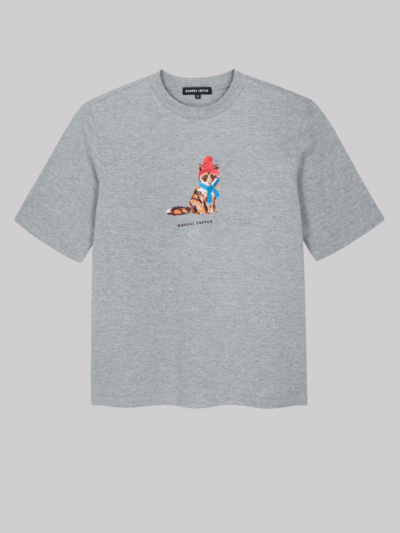 Embroidered Fox Nicola Tee