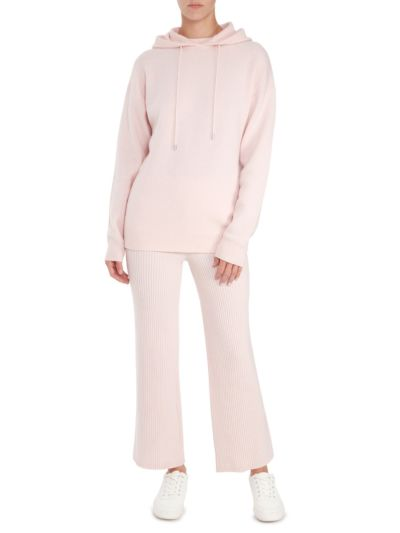 Immy Cashmere Relaxed-Fit Hoodie