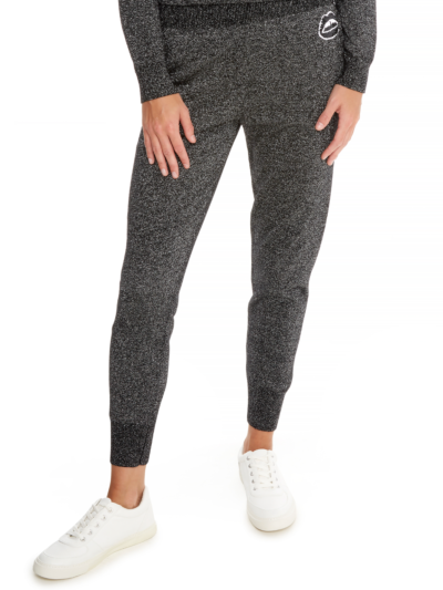 Sequin Lara Lip Lurex Jogger