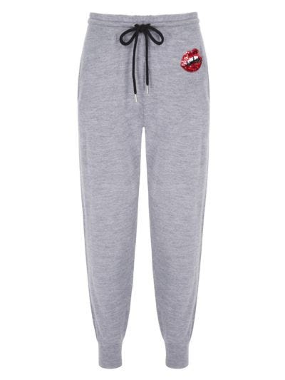 Sequin Lara Lip Jogger