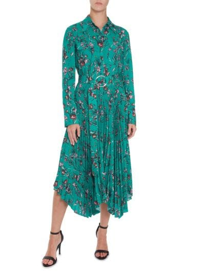 Lily Cherub Garden Pleated Dress