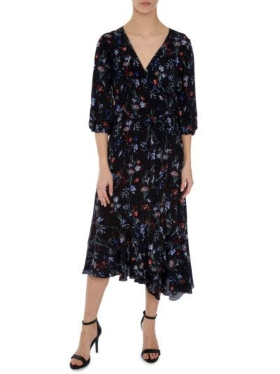Dylan Cherub Garden Wrap Dress