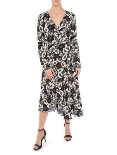 Caroline Winterbloom Wrap Dress