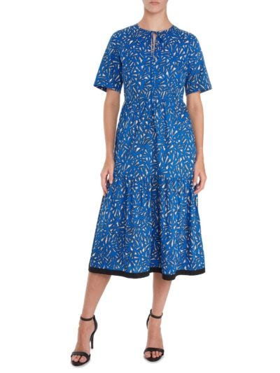 Carter Geo Giraffe Cotton Dress