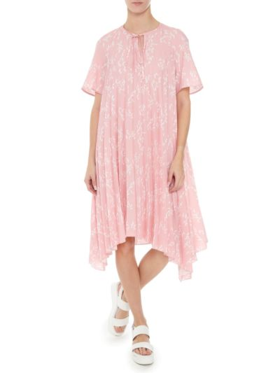 Naomi Pleated School Of Fish Dress