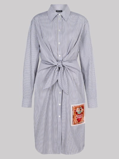 Striped Cotton Paige Shirt Dress