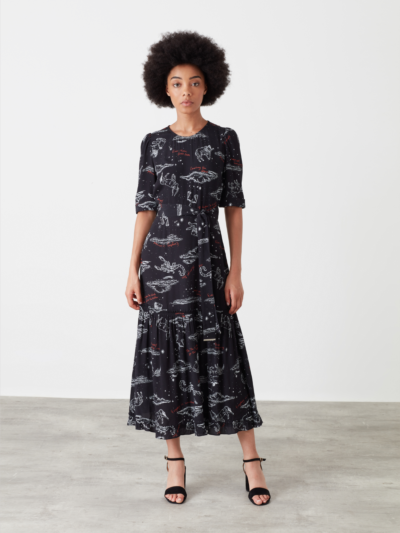 Starry Night Edie Dress