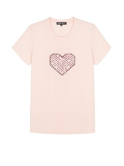Kate Graphic Heart Slim-Fit Tee