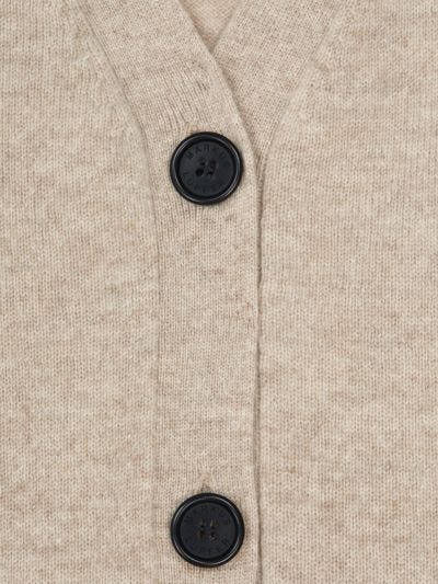 Linda Cashmere Relaxed-Fit Cardigan