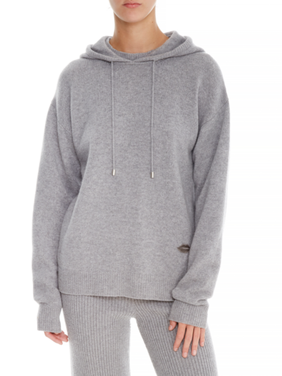 Immy Cashmere Blend Relaxed-Fit Hoodie