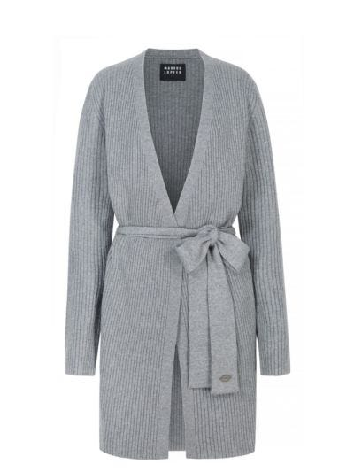 Jessica Belted Cashmere Relaxed-Fit Cardigan