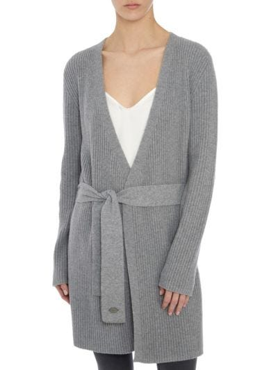 Jessica Cashmere Blend Relaxed-Fit Cardigan