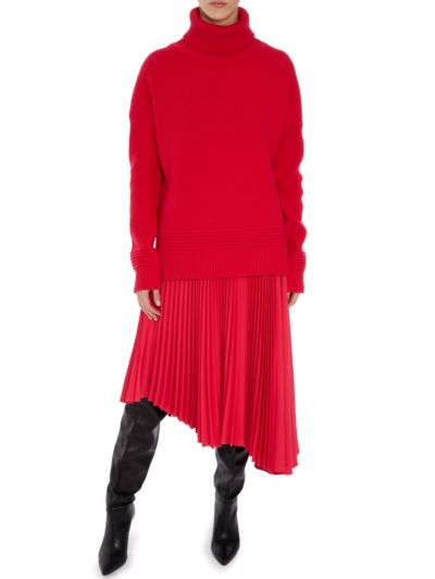 Holly Chunky Rib Oversized Roll Neck