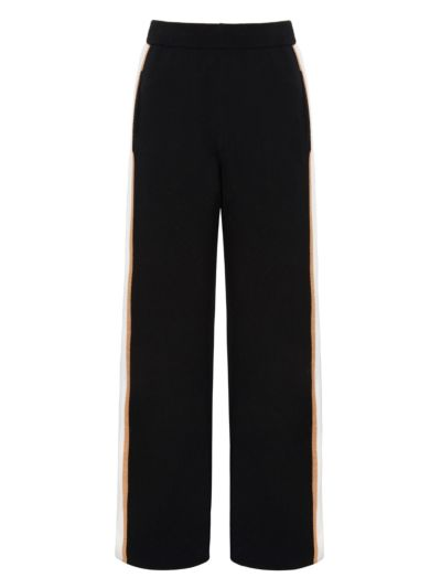 Becca Tri-Stripe Knit Trouser