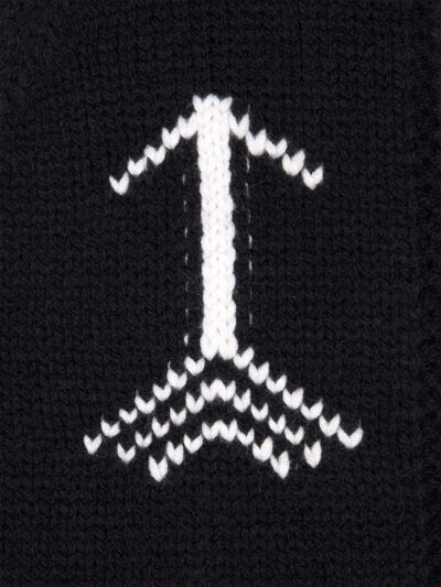 ML Arrow Knit Hoodie