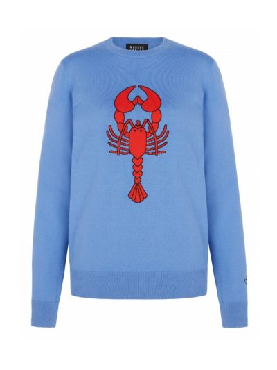 Mia Intarsia Lobster Slim-Fit Jumper