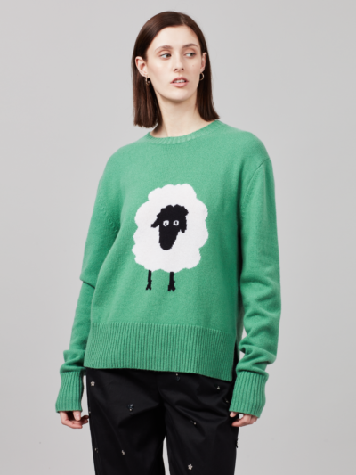 Intarsia Sheep Megan Jumper