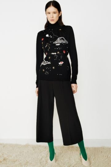 Jewel Galaxy Roll Neck Lilly Jumper