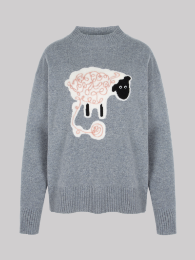 Intarsia Sheep Ellie Jumper