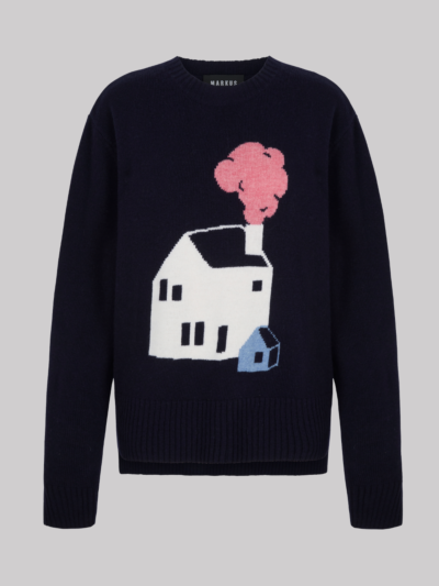 Intarsia Little House Megan Jumper