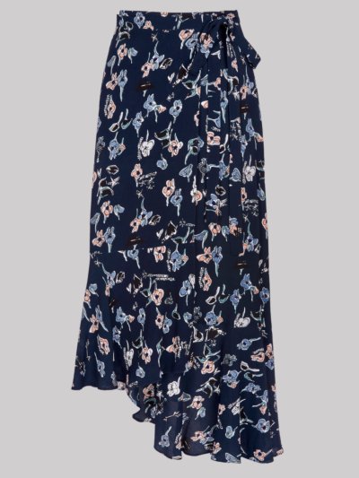 Painters Floral Caroline Wrap Skirt