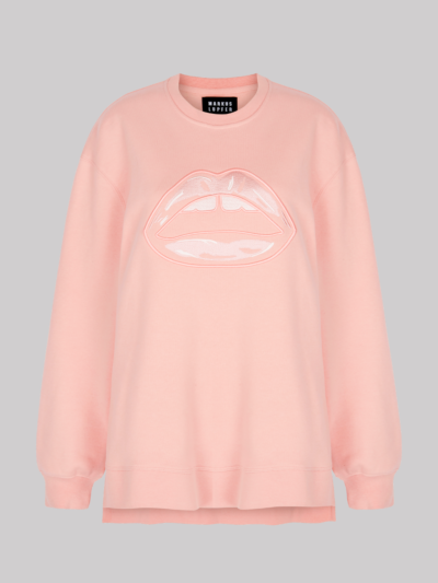 Embroidered Lip Josie Sweatshirt