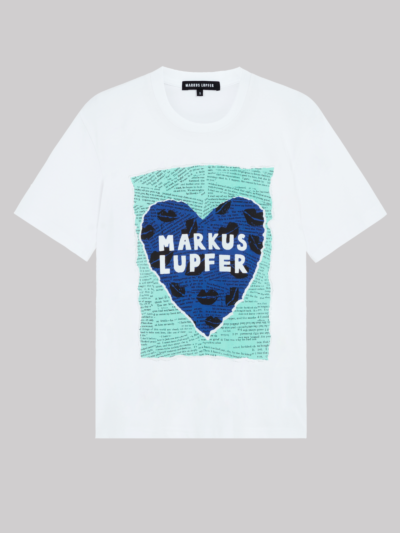 Heart Lip Collage Alex Tee