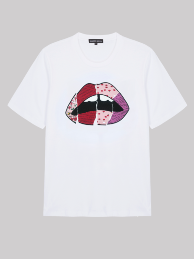 Collage Lip Alex Tee