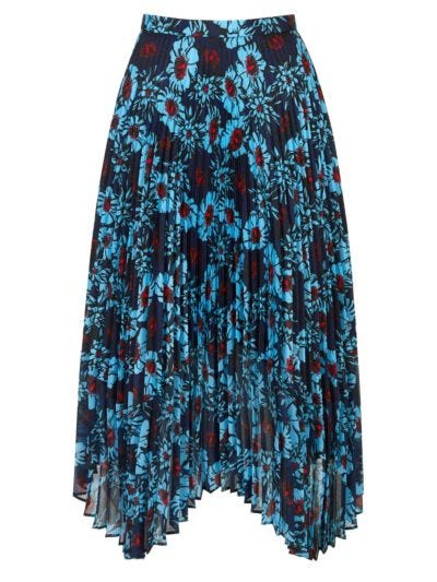 Lila Winterbloom Pleated Skirt