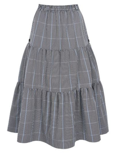 Atty Prince of Wales Tiered Skirt