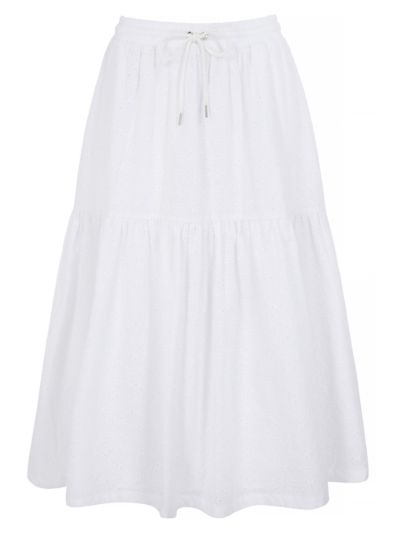 Suki Broderie Anglaise Iconic Lip Skirt
