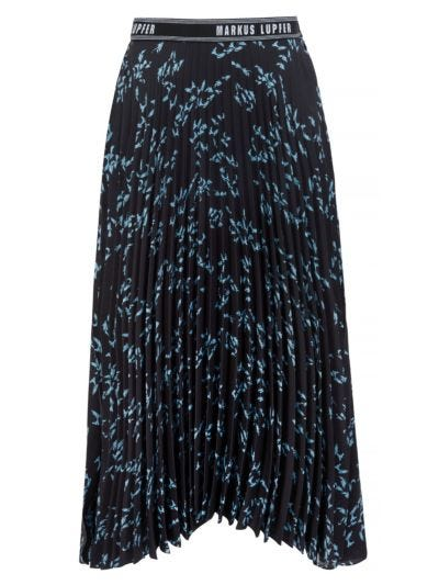 Naomi Pleated School Of Fish Skirt