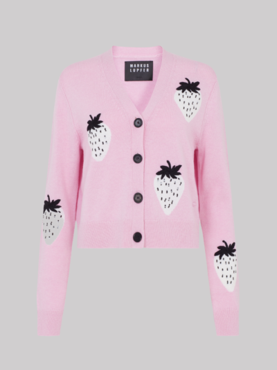 Sequin Strawberry Hannah Cardigan