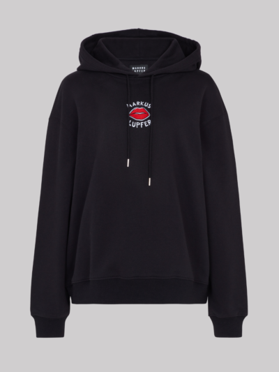Embroidered Lip Carla Hoodie