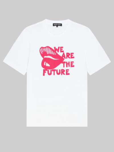 Flocked We Are The Future Alex Tee