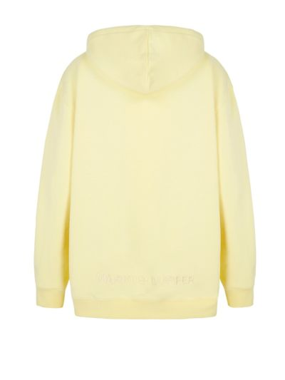 Erin Tonal Embroidered Lip Oversized Hoodie