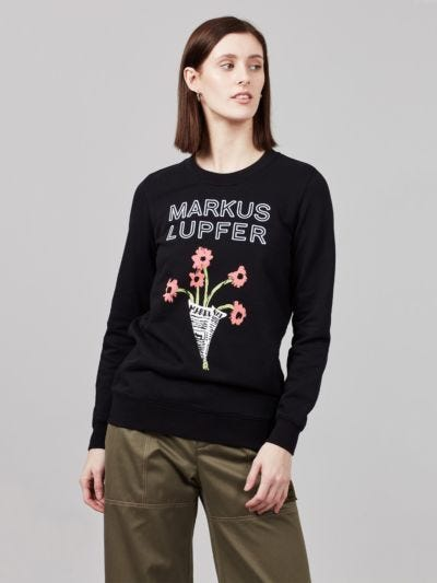 Embroidered Markus Lupfer Anna Sweatshirt