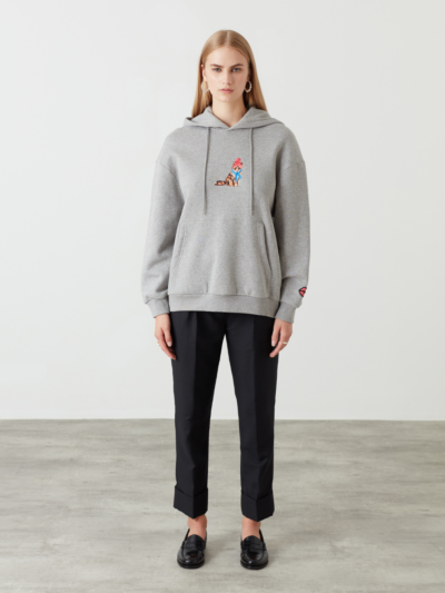 Embroidered Fox Ella Sweatshirt