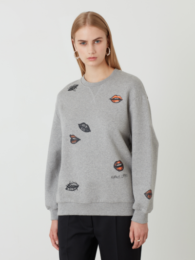 Graffiti Multi Lip Kay Sweatshirt