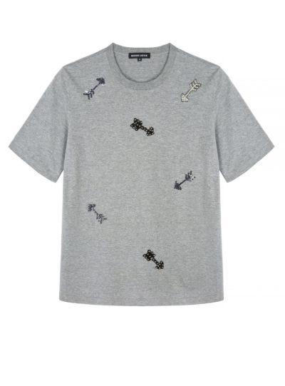 Alex Sequin Arrows Relaxed-Fit Tee