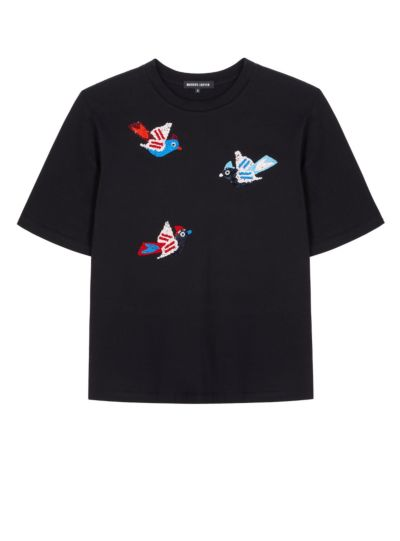 Nicola Flying Birds Relaxed-Fit Tee