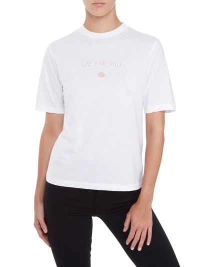 Nicola Love Your Smile Relaxed-Fit Tee