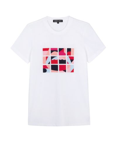 Kate Tile Lara Lip Slim-Fit Tee