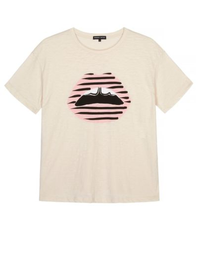 Alyssa Printed Stripe Lip Organic
