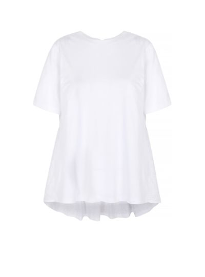 Serena Broderie Anglaise Iconic Lip Tee