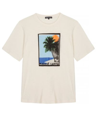 Alex Palm Tree Organic Relaxed-Fit Tee