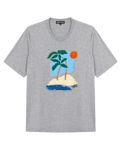 Alex Sequin Beach Scene Tee